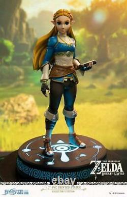 The Legend of Zelda Zelda Breath of the Wild Vinyl Statue Collector's Edition