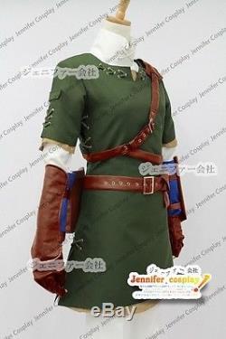 The Legend of Zelda Zelda Link Cosplay Costume Ver. 1