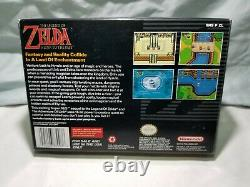 The Legend of Zelda a Link To The Past (Super Nintendo, 1992) SNES Box Complete