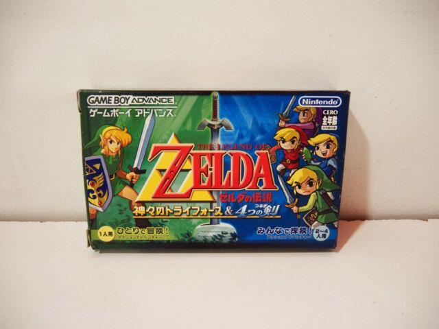 The Legend Of Zelda A Link To The Past Nintendo Game Boy Advance Gba Jap Ntsc