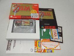 The Legend of Zelda a Link to the Past SNES Spiel komplett mit OVP und Anleitung