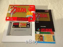 The Legend of Zelda a Link to the Past SNES Spiel mit OVP und Anleitung