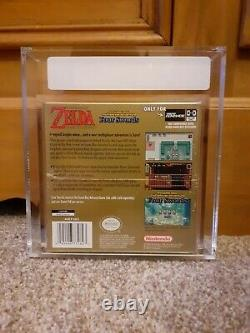 The Legend of Zelda a Link to the Past VGA Graded 85+! NEW SEALED! NTSC GBA WATA