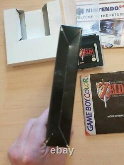 The legend zelda link s awakening DX GameBoy Color FR gbc boite notice complet