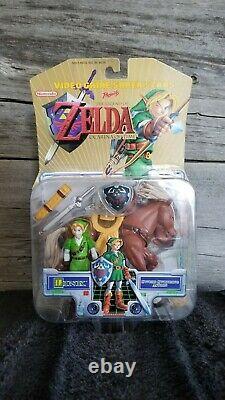 Toybiz Legend of Zelda Ocarina of Time Link & Epona Action Figure Nintendo BNIB