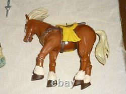 Toybiz The Legend Of Zelda Ocarina Of Time Link & Ganondorf With Horses Epona