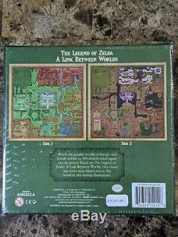 USAopoly The Legend of Zelda A Link Between Worlds DOUBLE-SIDED 550 Piece Puzzle