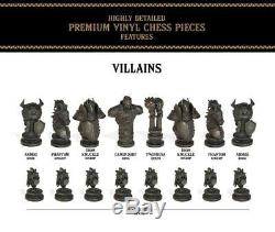 USAopoly The Legend of Zelda Chess Set 32 Custom Sculpt Chess Pieces Link NEW