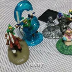 Ultra Rare Legend Of Zelda Ocarina Of Time Mini Figure set Kabaya Figurine Doll