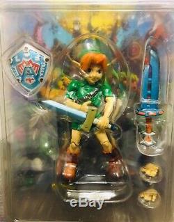 VERY RARE! The Legend Of Zelda Majoras Mask Epoch CWorks Link Figure MOC Sealed