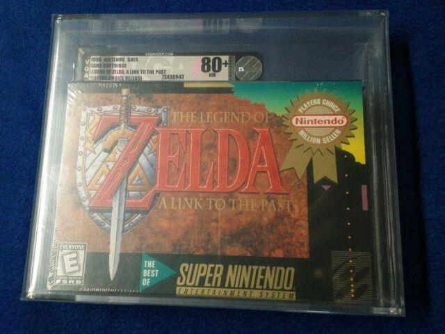 Vga Rated 80+ (nm) The Legend Of Zelda A Link To The Past (snes, 1992)