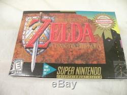 VINTAGE The Legend of Zelda A Link to the Past (Super Nintendo) FACTORY SEALED