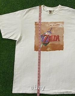 VTG 1998 N64 The Legend of Zelda Ocarina of Time Link Promo Tee T-Shirt Nintendo