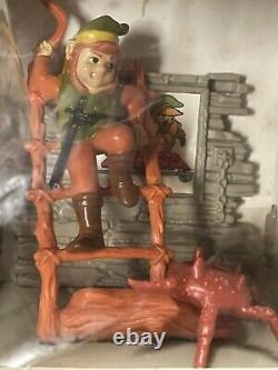VTG Nintendo Trophy Figure Legend Of Zelda Link Boomerangs a Gohma 1988 MIB