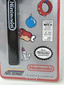 Vintage 1989 Nintendo The Legend of Zelda Watch Rubber NOS Sealed NIP Link Toys