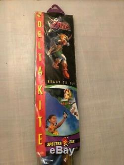 Vintage 1999 Spectrastar Nintendo The Legend Of Zelda Ocarina Of Time 42 Kite