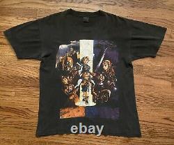 Vintage Legend Of Zelda Link Gannon Holy Grail Promo T-Shirt Size Large 21.5x28