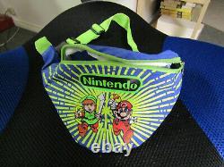 Vintage Legend of Zelda Link Mario Nintendo Power Youth Fanny Pack Belt Bag 1989