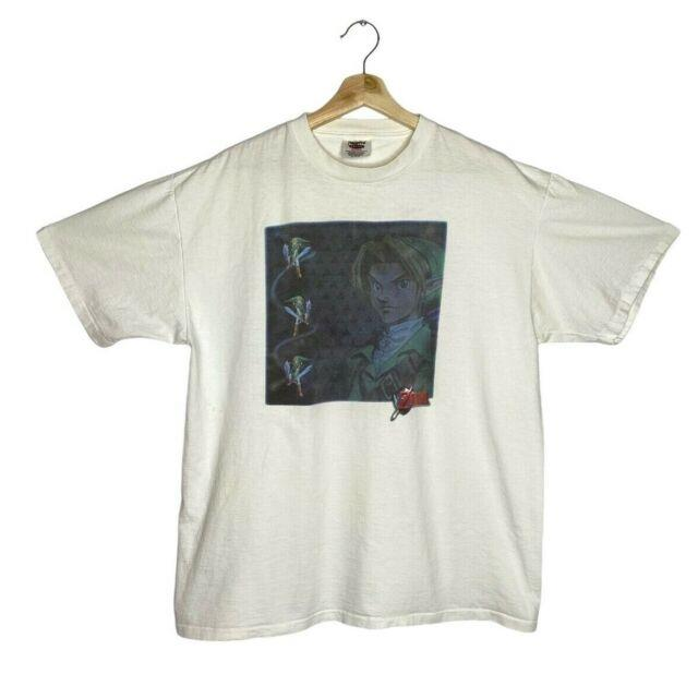 Vintage Nintendo 64 N64 Legend Of Zelda Oneita T-shirt Xl Loz Link Hyrule 90s