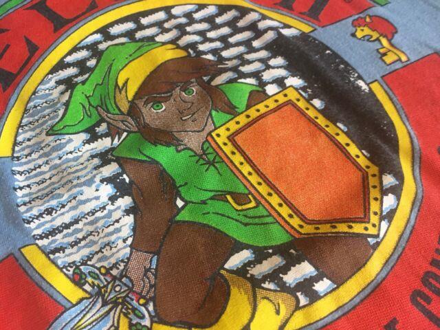 Vtg Rare 1988 The Legend Of Zelda Ii Adventure Link Nintendo T-shirt Ssi 80s L
