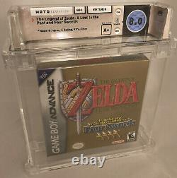 WATA 8.0 A+ SEALED Legend of Zelda A Link to the Past (Nintendo Game Boy, 2002)