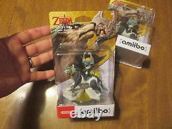 WOLF LINK AMIIBO Legend of Zelda Twilight Princess HD NINTENDO WII U SWITCH