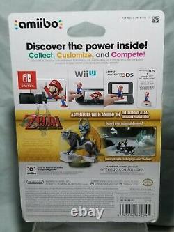 Wolf Link Amiibo The Legend of Zelda Breath Wild Series Box Damaged
