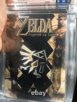 ZELDA LEGEND OF LINK Nintendo NES WATA 9.8 VGA Brand New Factory Sealed 9.8 WOW
