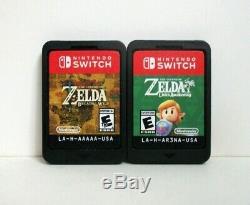 Zelda Breath of the Wild Link's Awakening Nintendo Switch Games Lot Legend Links