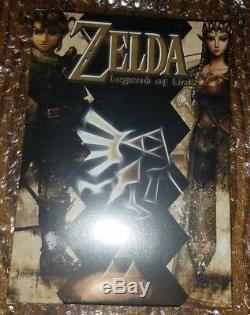 Zelda Legend Of Link Nintendo NES re-release NEW large map MINT limited 2nd run