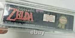 Zelda Legend of Link to Past LTTP Super Nintendo SNES New Sealed MINT VGA WATA