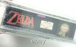 Zelda Legend of Link to the Past Super Nintendo SNES Sealed MINT VGA WATA LTTP